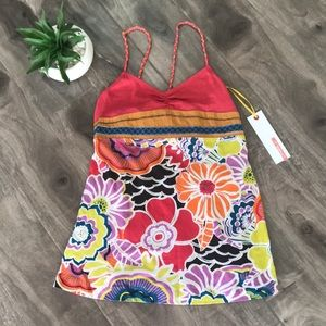 O'Neill bold floral tank - NEW